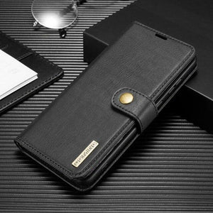 Vipomall Luxury 2 In 1 Magnetic Wallet Flip Case For Samsung Galaxy Note 20