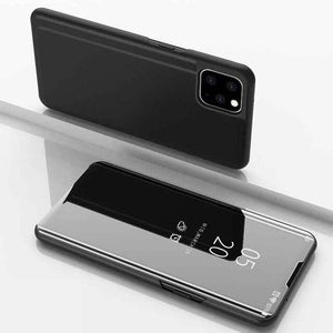 Vipomall Luxury Mirror View Flip Case for iPhone 12
