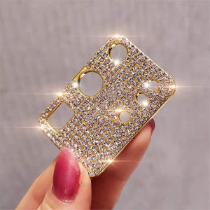 Vipomall Bling Diamond Metal Camera Lens Protection for Samsung Galaxy S20 Series(Buy 2 Get 10% OFF)
