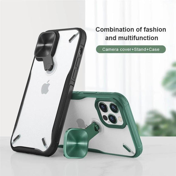 Vipomall Multifunction Camera Protect and Stand Cases For iPhone 12