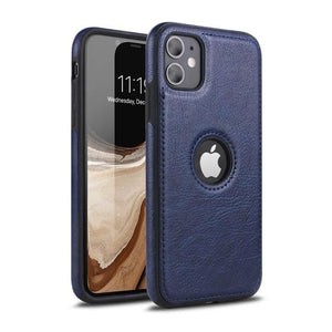 Vipomall Luxury Business Stitching Case for iPhone 12 Series