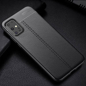 Vipomall Shockproof Litchi Leather Soft Silicon Case for Samsung Galaxy S20/10(Buy 2 Get 10% OFF)