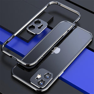 Vipomall Aluminium Frame Metal Bumper for iPhone with Camera Lens