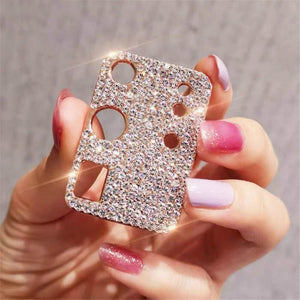 Vipomall Bling Diamond Metal Camera Lens Protection for Samsung Galaxy S21Series