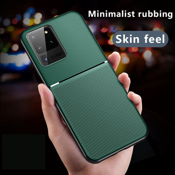 Vipomall Anti-Shock Magnet Silicone TPU Case For Samsung Galaxy S20