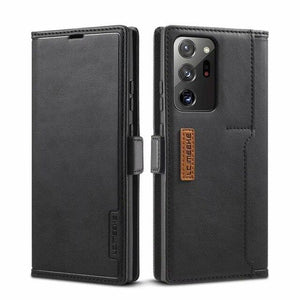 Vipomall Luxury Leather Flip Magnetic Case For Samsung Galaxy Note Series
