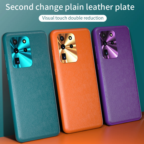 Vipomall Luxury Soft Vegan Leather Cover Case for Samsung Galaxy Note Series