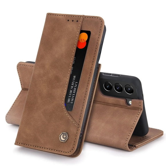 Vipomall Leather Flip Wallet Case for Samsung Galaxy S21 Series