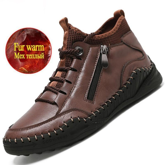 Vipomall Men's Zipper Design Western Ankle Boot(Buy 2 Get 10% OFF)