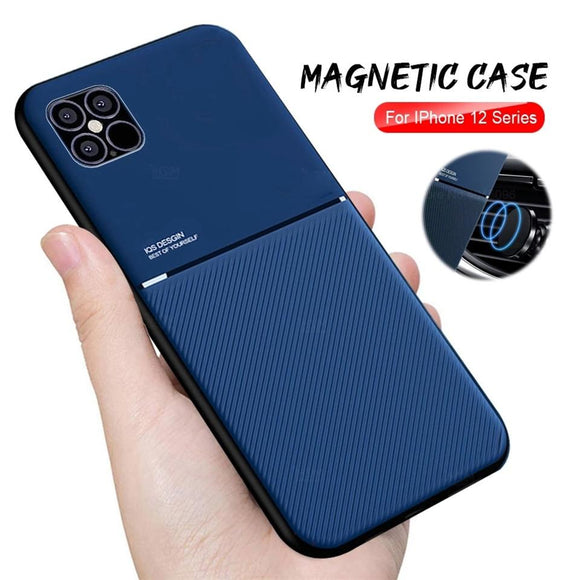 Vipomall Hot Selling Anti-Shock Magnet TPU Case For iPhone 12/11