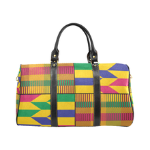 Kente Travel Bag (Gold) - Small - Lord Merchx