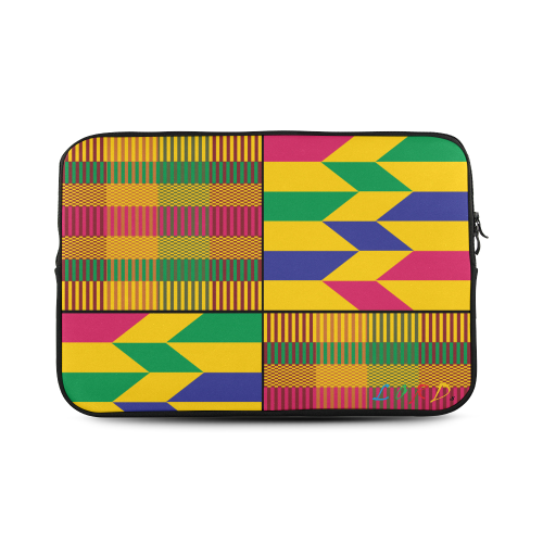 Kente Laptop Sleeve Bag- 17