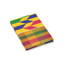 Premium Kente Journal - Ruled Line - Lord Merchx