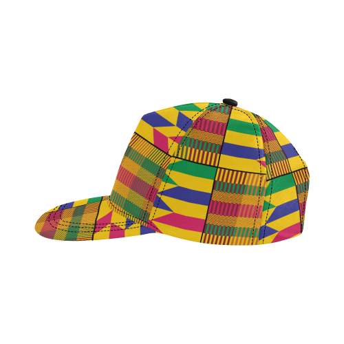 Kente Dad Hat - All Over Print - Lord Merchx