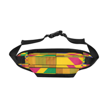 Gold kente Fanny pack - Lord Merchx