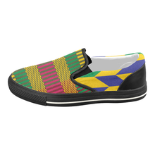 Ama Women's Slip-on Canvas Shoes - stripped - Lord Merchx