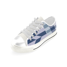 men's blue shoe US made Men's Classic Canvas Shoes (Model 018) - Lord Merchx