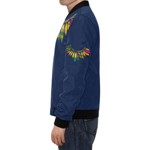 Men's Warrior Bomber Jacket - Lord Merchx