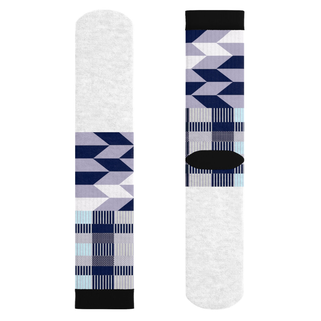 Blue kente Socks - Lord Merchx