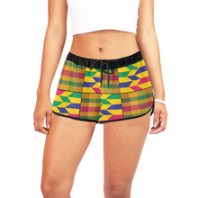 Women's Kente Shorts - Lord Merchx