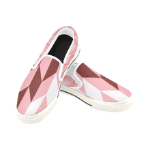 Ama Kids Slip-On Kente Shoes - Pink Kente - Lord Merchx