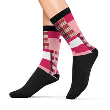 Pink Kente Socks - Lord Merchx