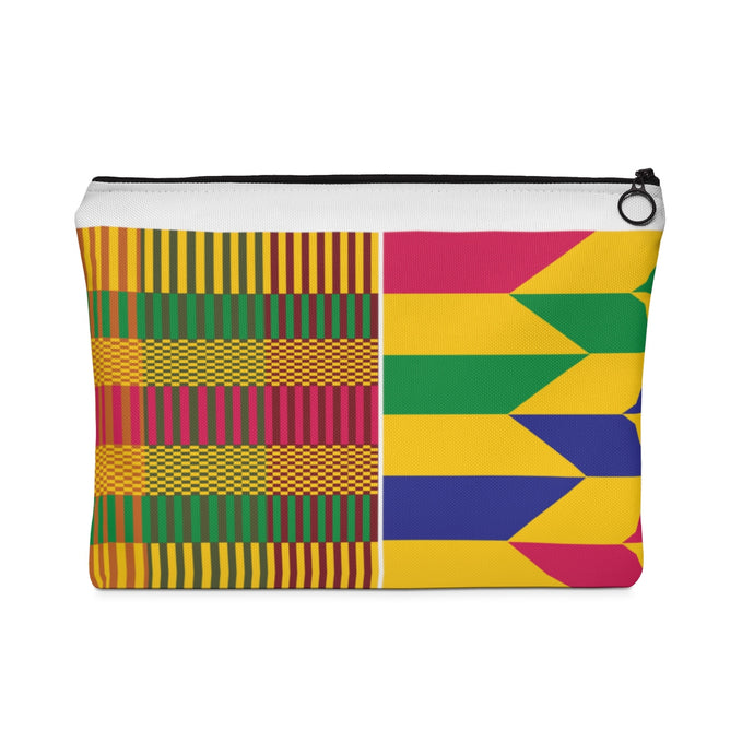 Kente Carry All Pouch - Flat - Lord Merchx