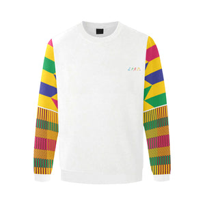 Men's Sweatshirt Gold Kente - Lord Merchx