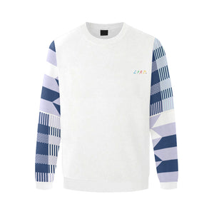 Men's Sweatshirt Blue Kente - Lord Merchx