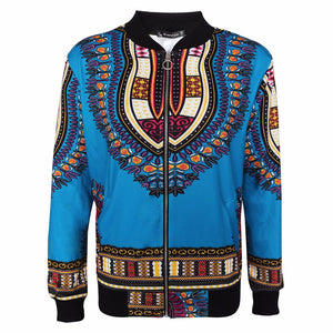 womens Dashiki Bomber Jacket - Lord Merchx