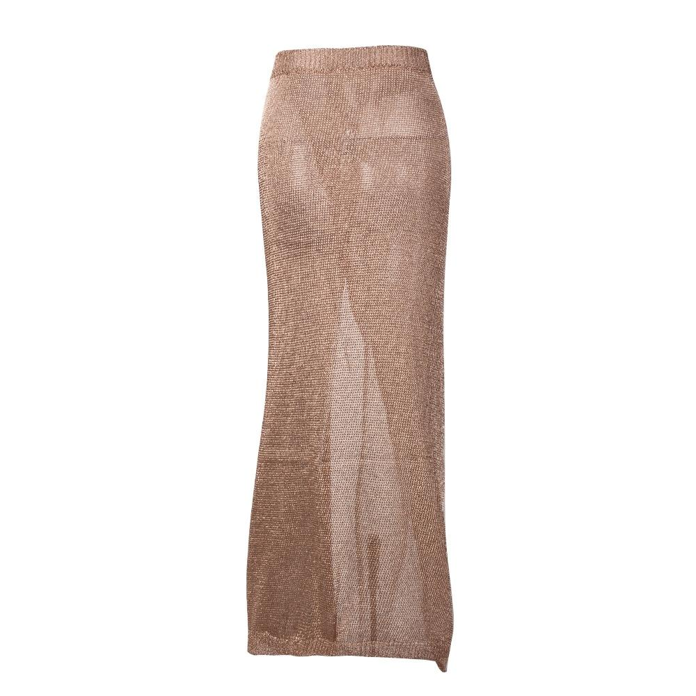 3dc935ae126 Baby Cakes Gold Metallic Knit Maxi Skirt – Fashion Genie Boutique AU