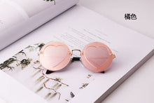Load image into Gallery viewer, Children's Polarized Round Sunglasses Baby Heart Shape Metal Sunglasses