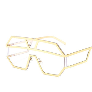 Big Frame Fashion Piece Sunglasses