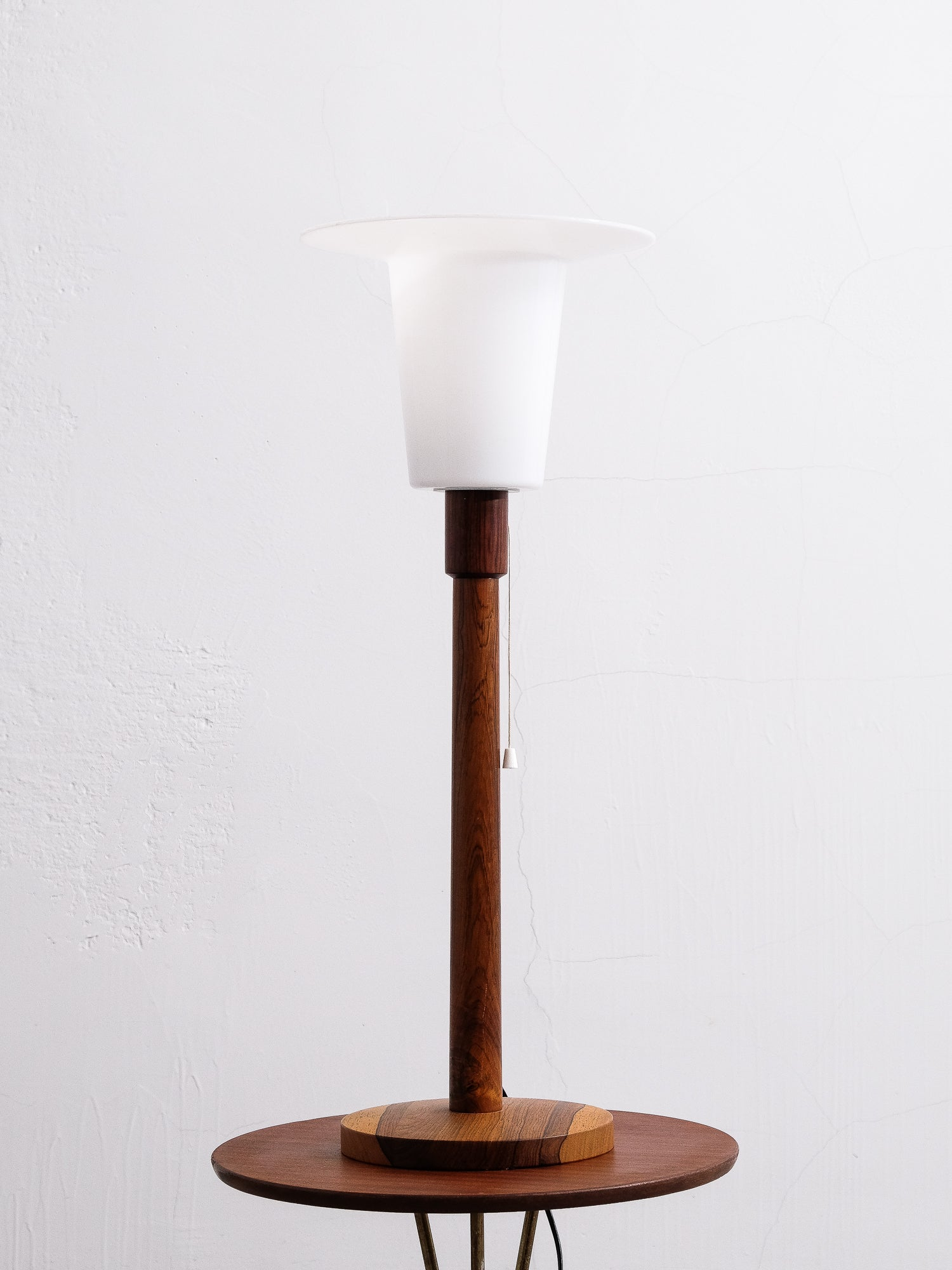 Table Lamp in Rosewood by Uno & Östen Kristiansson for Luxus, Sweden
