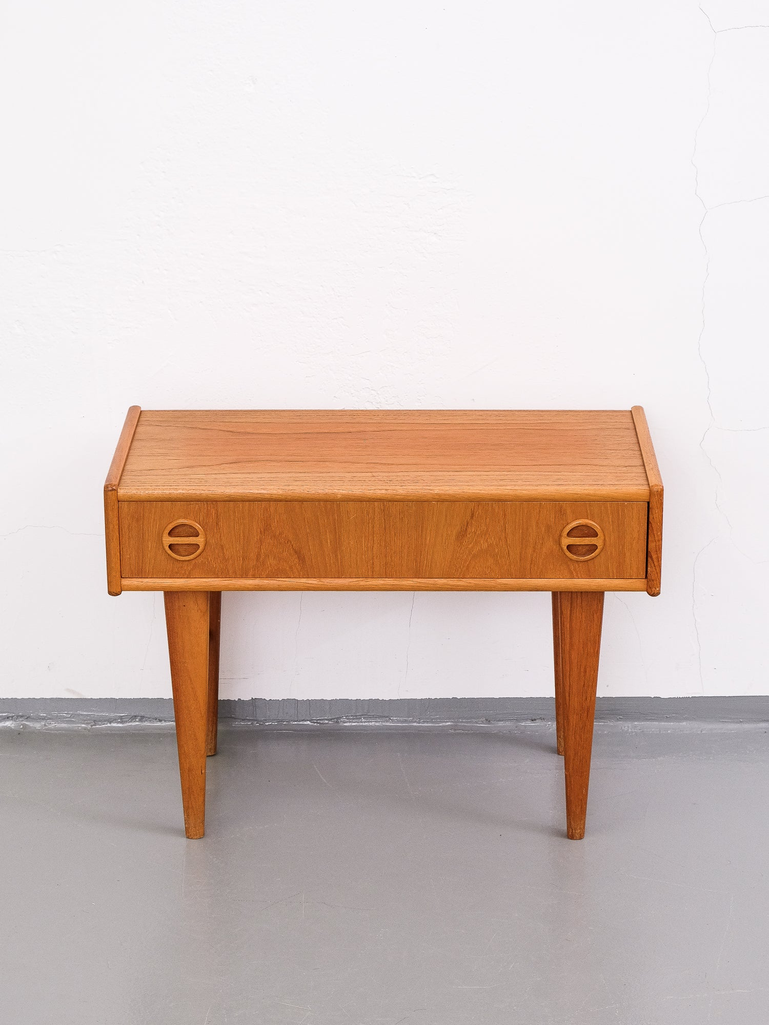 Single Drawer Chest/Table in Teak, 1960s