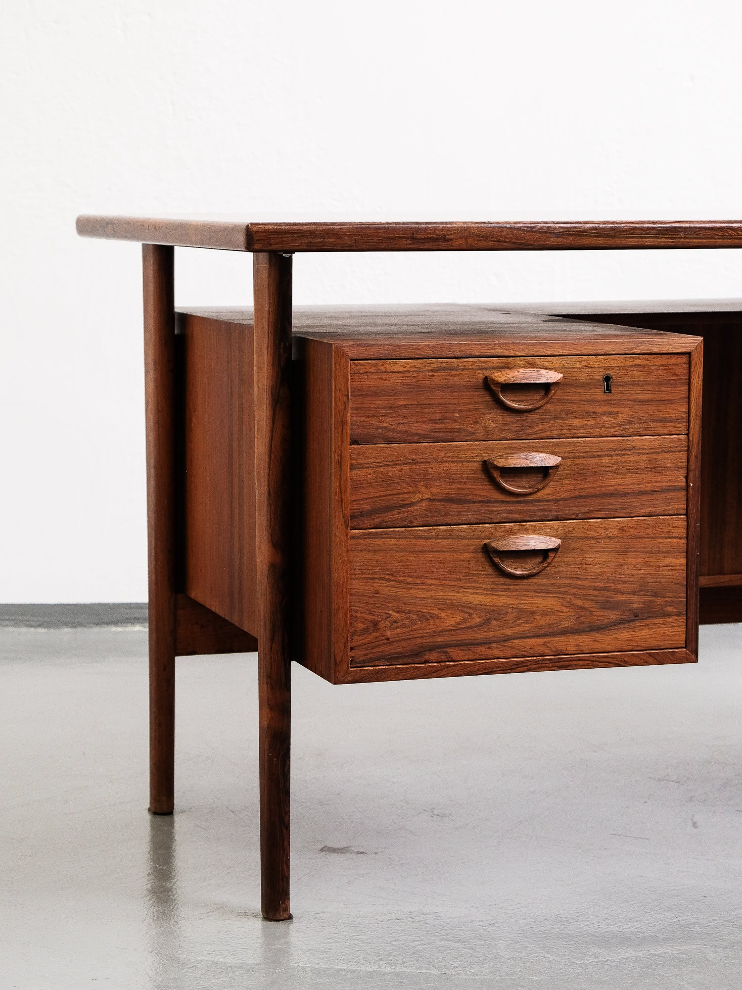 Danish 'FM60' Desk by Kai Kristiansen for Feldballes Møbelfabrik, 1960s