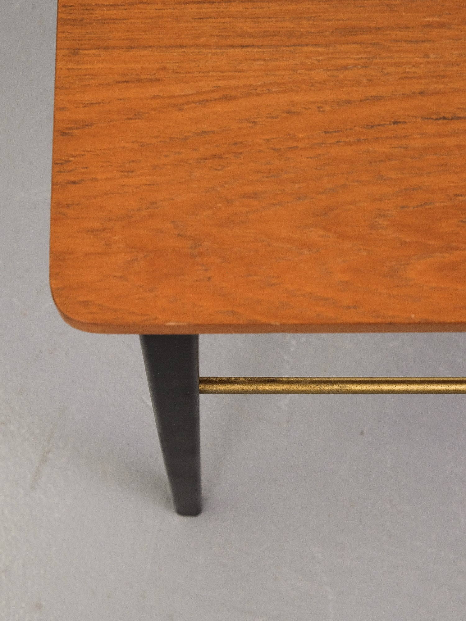 Swedish Teak Top Side Table, 1950s