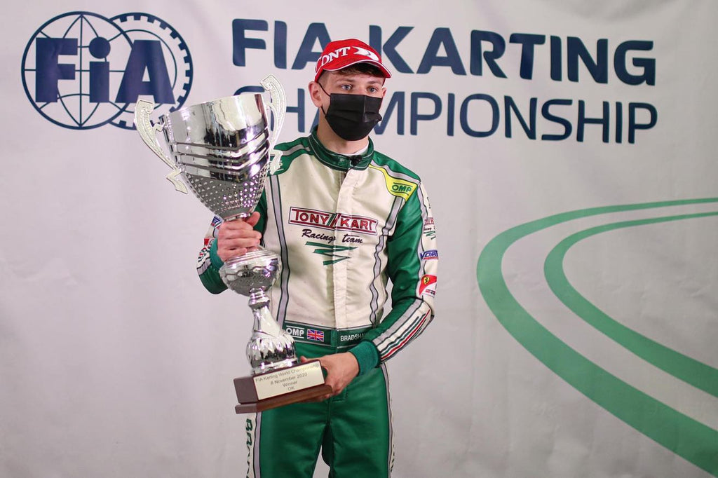 OK World Champion Callum Bradshaw is coming to Portimao with Strawberry Racing