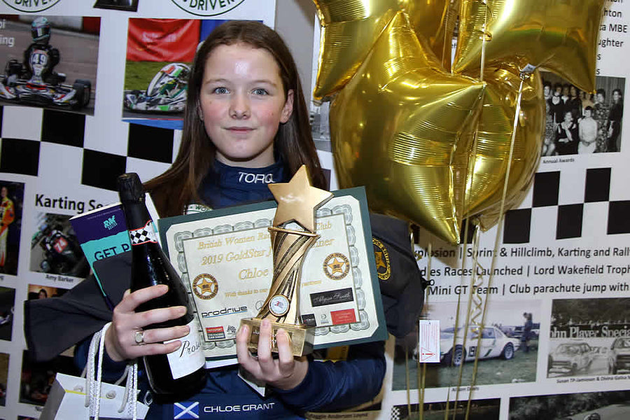 Chloe Grant: BWRDC GoldStar Junior Award Winner