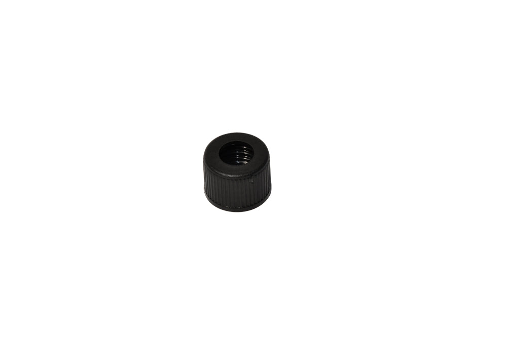 Small drilled plug for fuel tank - black