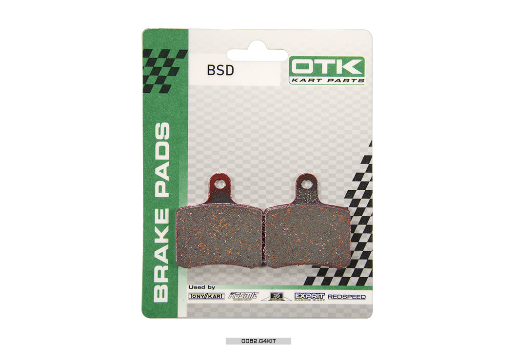 BSD rear brake caliper pads (current)