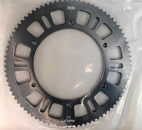 Rear Sprocket Aluminium Silver RK-NKP 66T to 89T