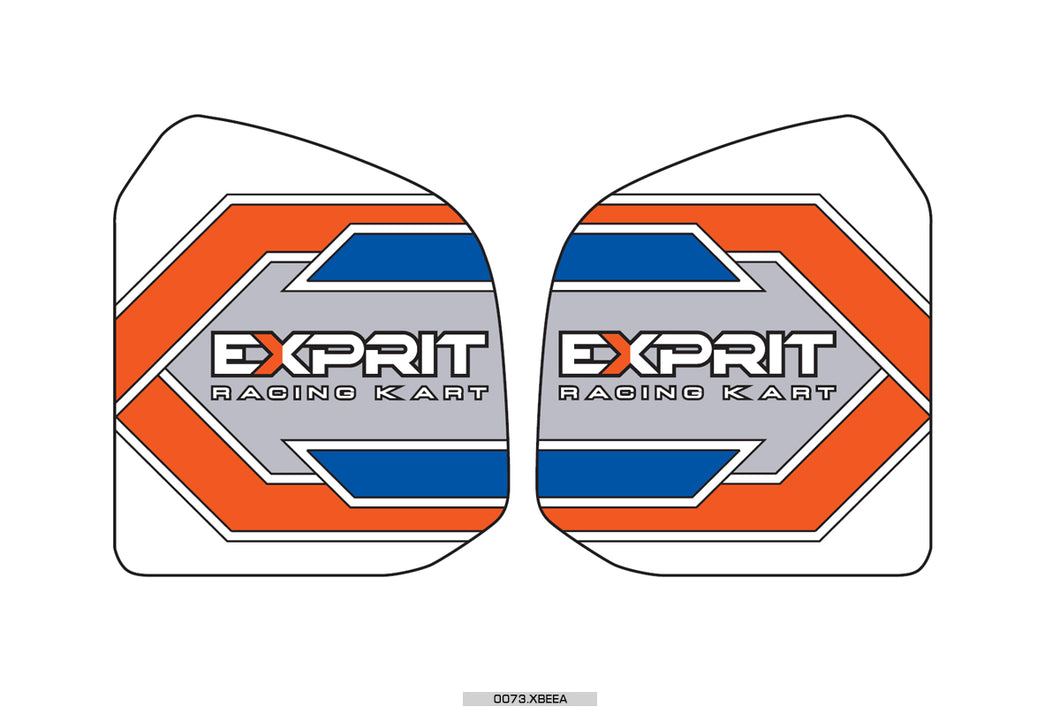 Exprit Fuel Tank Sticker