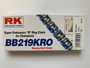 Chain RK O'Ring Blue 96L to 116L