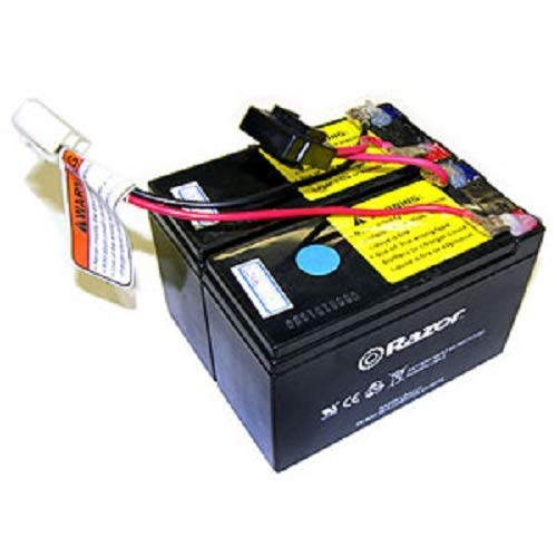 Battery w/Fuse (2  x 12V/7AH Single Connector)