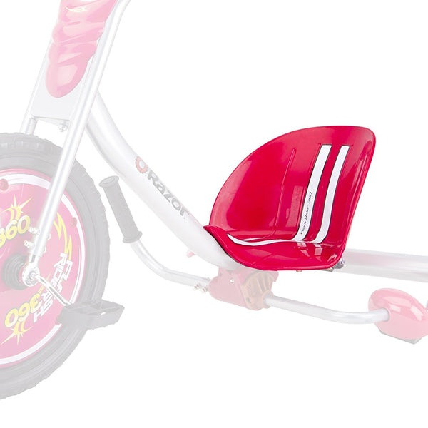FlashRider Seat w/Coupling Bolts - Red