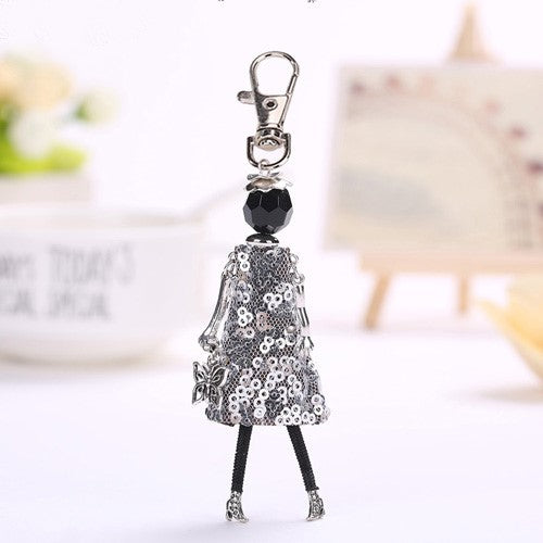 Decked Up Doll KEYCHAIN - Various Styles!
