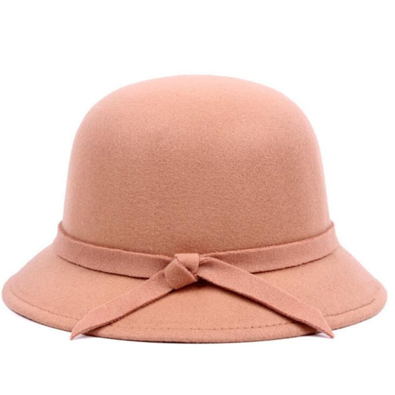 GORGEOUS Wool Felt Bucket Hat - Various Colors!
