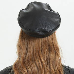The Soft Leather Military Cap - ON SALE NOW!