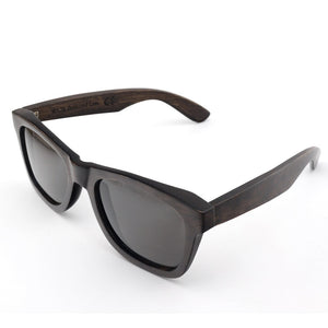 BOBO BIRD Solid Black Frame Sunglasses